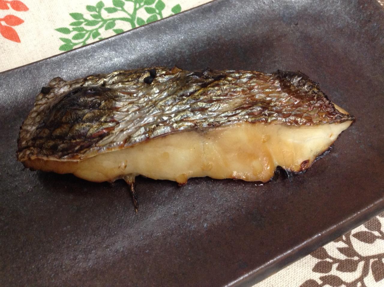 鯛の醤油糀漬け焼き