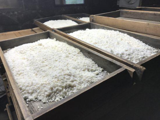 米糀、仕上がりました! 冬は味噌仕込の季節。