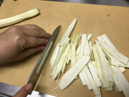 マコモタケの調理方法