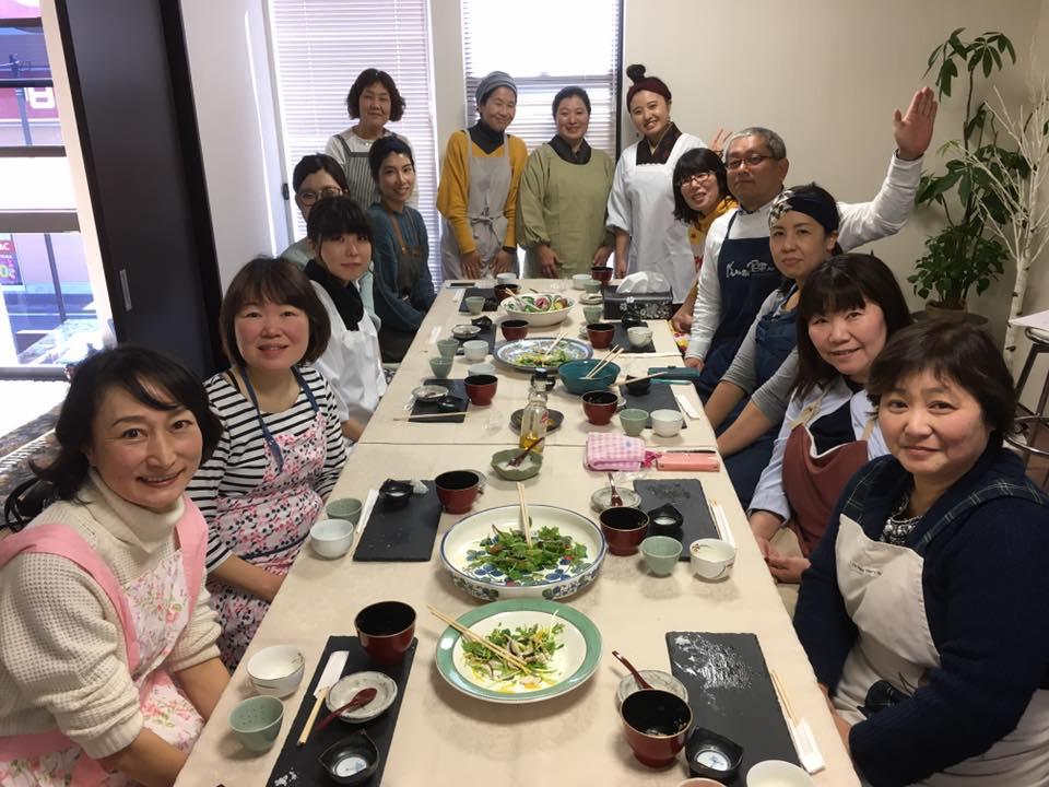 糀のお料理教室
