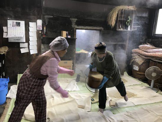大麦の蒸し出しです。