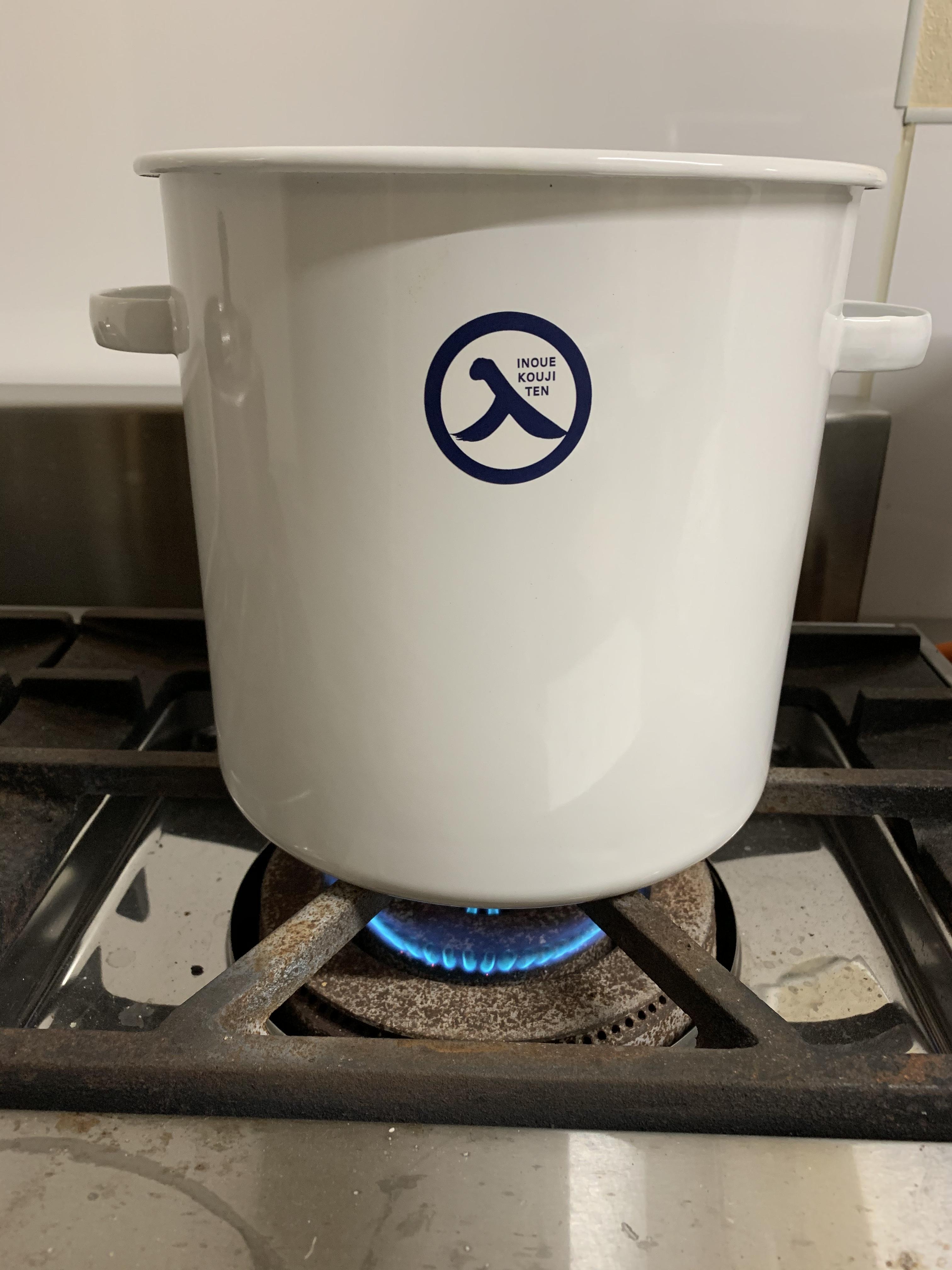 手作り味噌、鍋がないときは?