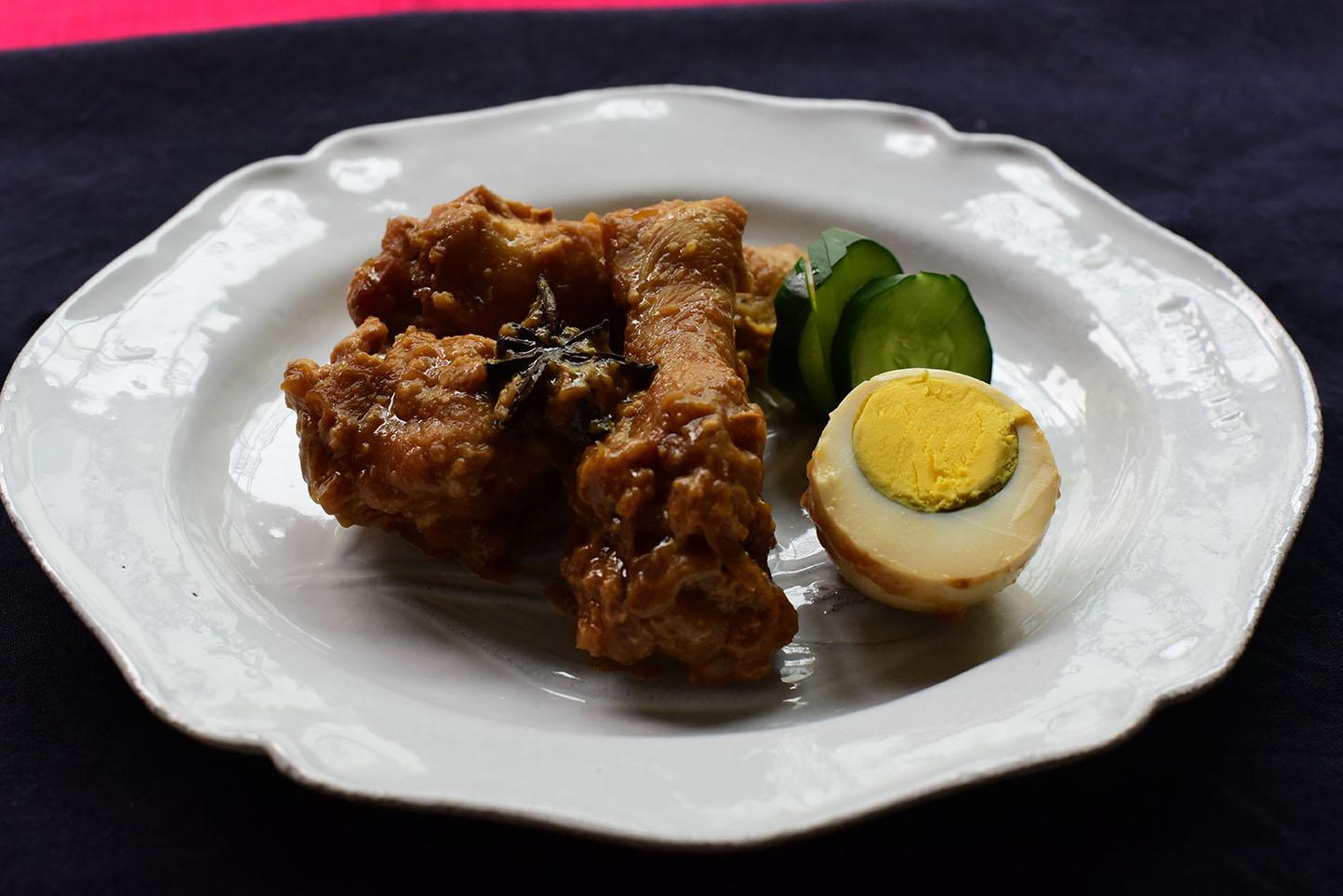 鶏の中華味噌煮